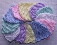 Divine Baby Cap Rainbow - wonderful project for charity donations!