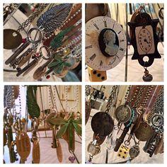 Jeanette Janson. repurposed jewelry.