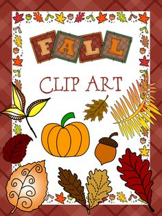 #{Freebie} #Fall #Clip Art Commercial Use OK