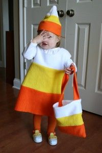 Candy Corn costume @Krista Corbett you better tell me what Melody's costume is or else I'll be forever pinning new ones for her!