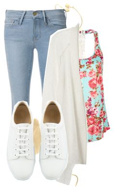 """#448"" by littleprincess555 ❤ liked on Polyvore featuring Frame Denim, Full Tilt and Rebecca Taylor"