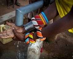 For the first time, people are able to wash their hands, their clothes and their bodies during the dry season (several months.) When you are walking five to ten kilometers a day carrying 20-30 liters of water, you cannot afford to use it for anything but the most necessary life sustaining tasks.