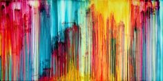 The Emotional Creation #149,FREE SHIPPING EU/USA, 250 x 125 cm - 100 x 50 in approx. - Full-frontal image, unframed