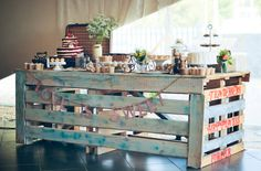 Vintage Wedding Dessert Table | Amy Atlas Events