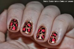 Partly Cloudy With a Chance of Lacquer - Animal Print