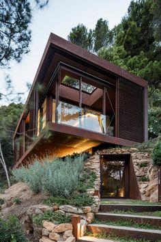 Modern Architecture House, Amazing Architecture, Interior Architecture, Container Architecture, Sustainable Architecture, Spanish Architecture, Futuristic Architecture, Residential Architecture, Modern Home Design