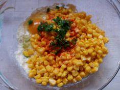 Kukoricalepény | Ájvi receptje - Cookpad receptek Vegetables, Food, Red Peppers, Essen, Vegetable Recipes, Meals, Yemek, Veggies, Eten