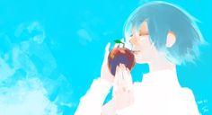 あくまはりんごのかたちをしているかれもそれをたべた ||| Kirishima Touka ||| Tokyo Ghoul Art by Ishida Sui