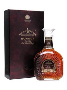 Johnnie Walker Honour. One of the rarest and hardest to find of all the special edition blends released by Johnnie Walker.