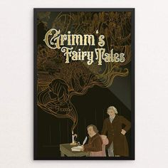 Grimm's Fairy Tales by Tina Schofield - Creative Action Network Grimm Tales, Poster Prints, Framed Prints, Woodland Fairy, Jessica Rabbit, Magical Creatures, Pin Up Art, Famous Artists, Romero Britto