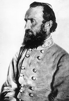 General Stonewall Jackson -- His Calvinist views inspired reckless bravery on the battlefield, but his beard will forever inspire visitors on my beard-board