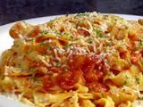 Picture of Fresh Pasta con Vodka Sauce Recipe | Diners, Driveins, & Dives (11.18.13)
