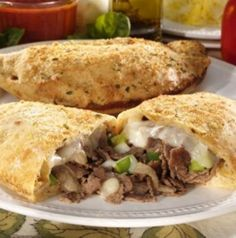 EASY STEAK BOMB CALZONE        Ingredients        1-Lb fresh dough (store bought)    4-Lbs of shaved steak   1-Can of mushrooms (6 ounces)   ¼ Lb of sliced salami    1-Bag of diced frozen peppers/onions   Salt & pepper    ¾ Lb of American sliced...