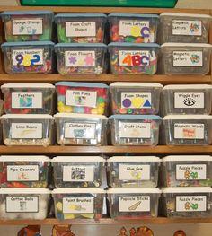 Organize craft closet!!
