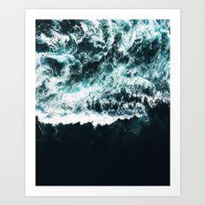Oceanholic #society6 Decor #buyart Art Print