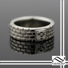 14k gold Super Mario Bros Brick Ring by mooredesign13 on Etsy