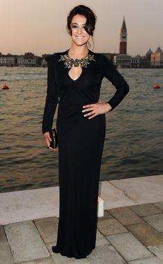 Fiesta de Gucci en el Festival de Cine de Venecia 2011: Valentina Lodovini.