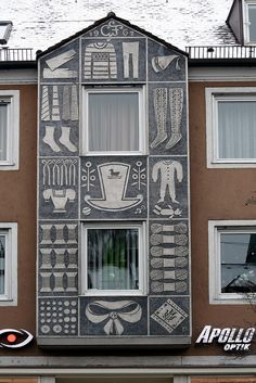 Fürstenfeldbruck - Sgraffito (1962) | Flickr - Photo Sharing!