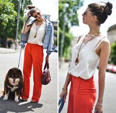 Corporate fanta pants (by Wendy H G) http://lookbook.nu/look/3649203-Corporate-fanta-pants