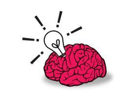 Brain egressing a lightbulb Lightbulb, Design Files, Brain, Creative, Art, The Brain, Art Background, Kunst, Light Globes