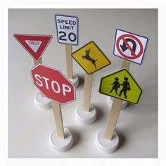 Traffic signs printable