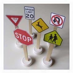 Traffic signs printable