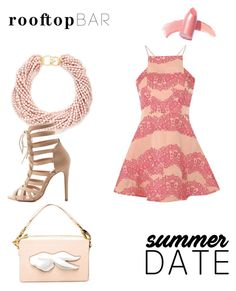 """""""Untitled #518"""" by capelloo ❤ liked on Polyvore featuring True Decadence, Kenneth Jay Lane, Andres Gallardo, Charlotte Russe, Elizabeth Arden, summerdate and rooftopbar"""