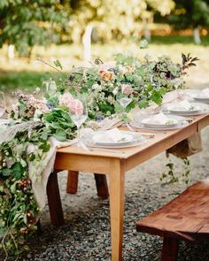 Beautiful Wedding Tablescapes | Best of 2015 | Bridal Musings Wedding Blog 14