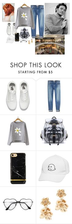 """Untitled #3637"" by cullenbrown ❤ liked on Polyvore featuring Vans, Frame and Oscar de la Renta"