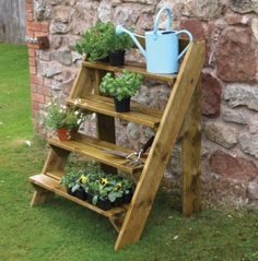 Step Planter - make your own from decking off-cuts?