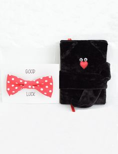 Black Cat Journal with Bow Tie Planner Soft cover notebook Good Luck diary Gift idea Cat Diary Gift for her for him Love cat Black cat wedding planner black velvet journal black cat notebook velvet fabric cover good luck diary lucky black cat gift for him love cat cat diary unique unusual nice cute art handmade notebook gifts gift ideas 32.00 USD #goriani