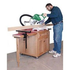 Woodworker's Journal Miter Saw Station Plan | Rockler Woodworking and Hardware