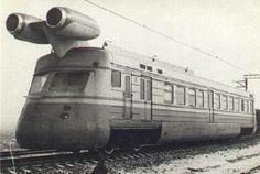 Jet Train - Kalinin Train Factory - USSR
