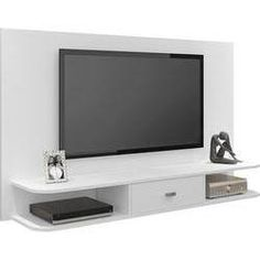 "Painel para TV de até 47"" Studio Branco - Artely"