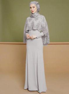 Abaya Embroidery Lace 2pcs Set