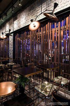 "Bar &Coffee House ""MALL"" Veria Greece ,by Dimitris Koukoudis Architect Mall, Greece, Coffee, House, Inspiration, Greece Country, Kaffee, Biblical Inspiration, Home"