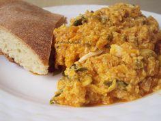 Moroccan scrambled eggs