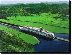 cruise through the Panama Canal.