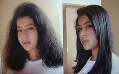 Volevo i capelli lisci naturali :-(