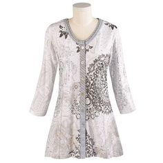 NEW Womens Italian Oversize Lagenlook Soft Touch Embellished Snood Tunic Top Set
