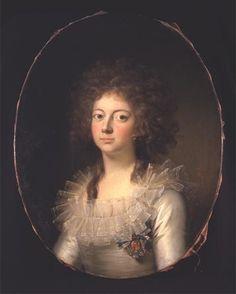 """Maria Sophie Hessen Kassel"", Jens Juel, ca. 1790; Rosenborg Castle"