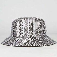 Tribal Reversible Bucket Hat - BLACK - SNDH4963A-TRIBL cf99dea1922