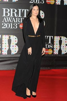 Jessie J in Versace - Brit Awards 2013