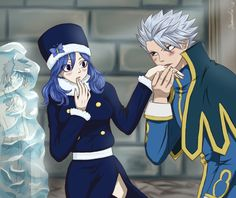 Lyon and Juvia: need to be together.