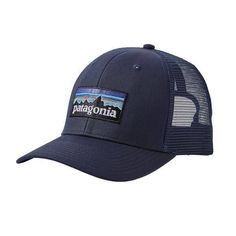 Patagonia Logo Trucker Hat 11955 Navy Blue Patagonia Logo ba47e9373de