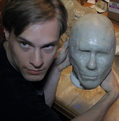 This is part 1 of an Instructable which will show you how to make a latex mask. Eventually we will be taking a clay sculpture, and molding it in plaster, and then pouring liquid latex inside of it, and then pulling out the final mask. But before we get to that point, starting with an exact copy of your head will make for a nice, tight-fitting mask. You could start with a Styrofoam head and sculpt your head shape on top of it, but unless you're good at sculpting, it should be easier and…