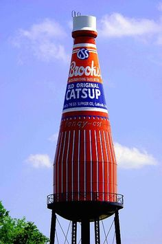The World's Largest Catsup Bottle!