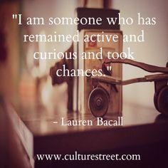 Lauren Bacall quote