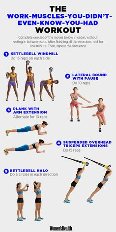 Great workout for joints, stability, and strength!