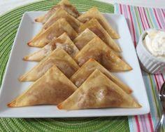 Nutella Banana Wontons Recipe | The Daily Meal